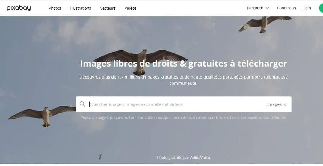 pixabay banque en ligne